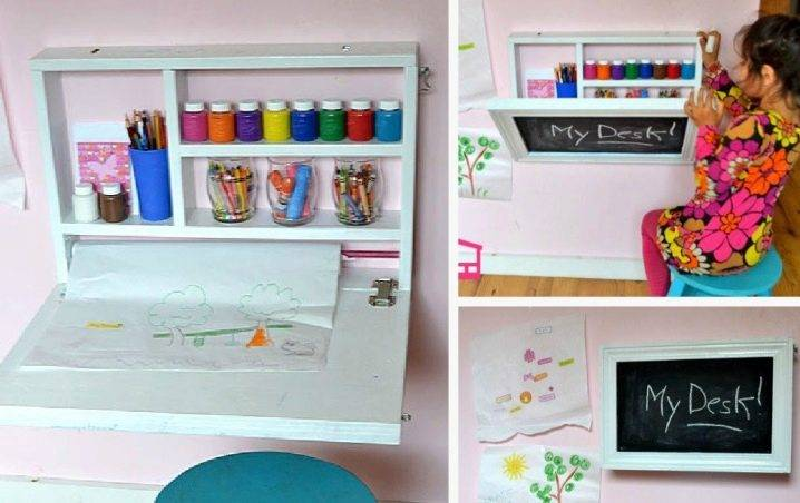 Стол в детскую комнату – особенности выбора, сочетания и применения детского стола (80 фото)