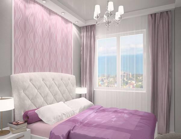 Выбираем цвет штор в спальню
