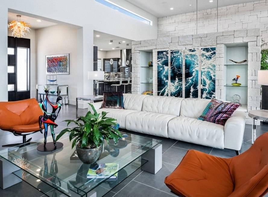 Дизайн гостиной 2019 год: стили и современные идеи по оформлению комнат (100 фото)