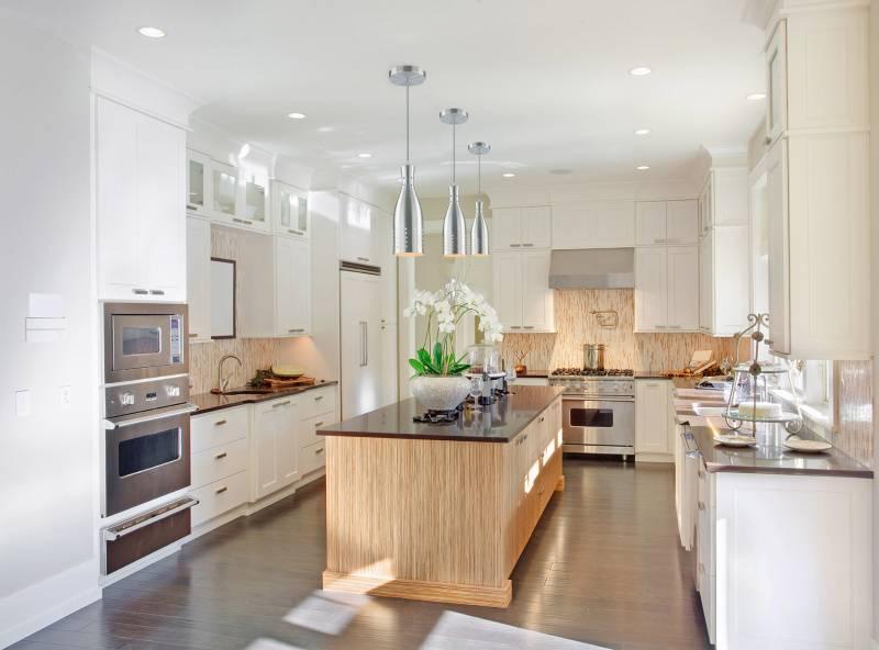 Кухни п-образной формы: варианты дизайна и планировки
