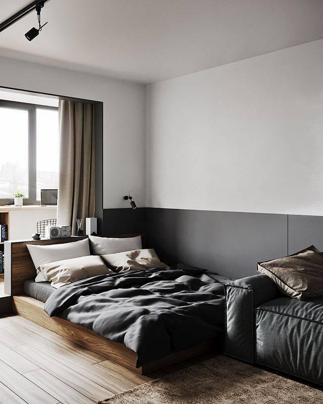 Спальня минимализм — как оформить интерьер правильно и советы специалистов по выбору дизайна (90 фото)