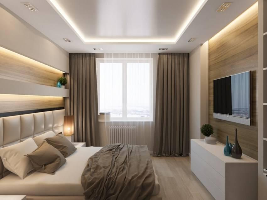 Дизайн спальни 12 кв м – фото реальных интерьеров спальных комнат