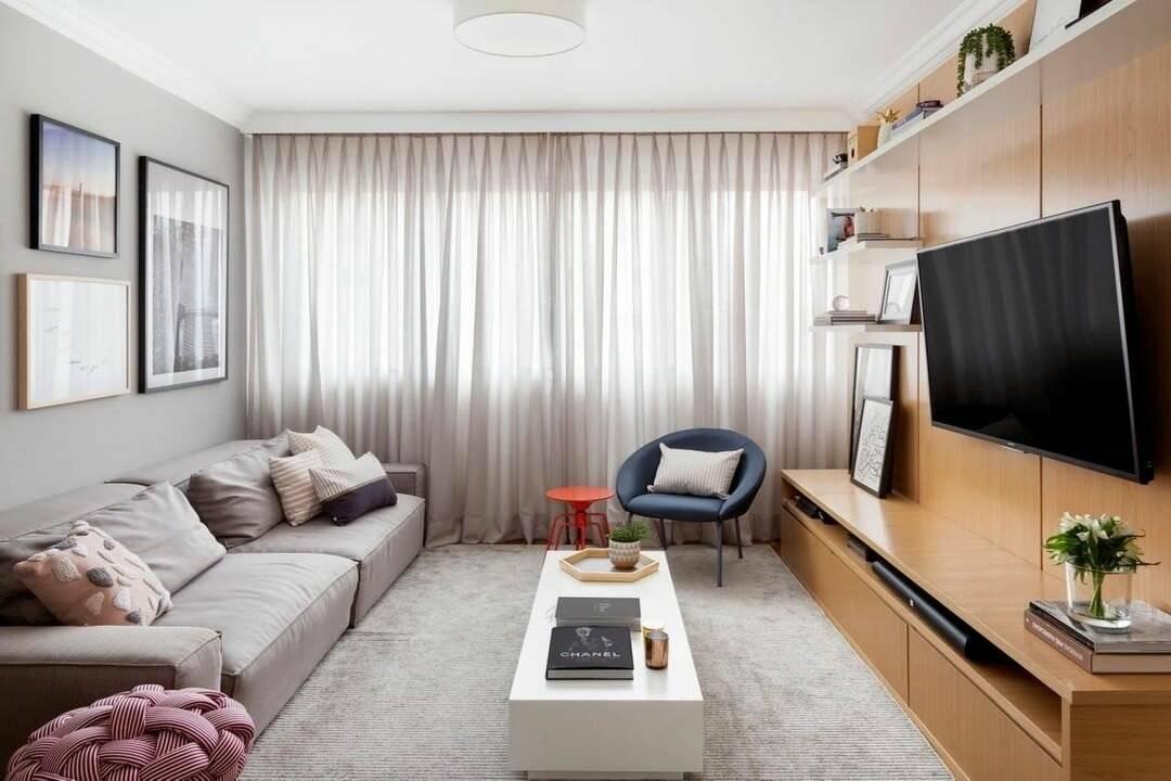 Впечатляющие интерьеры: интересные идеи по обустройству маленькой гостиной