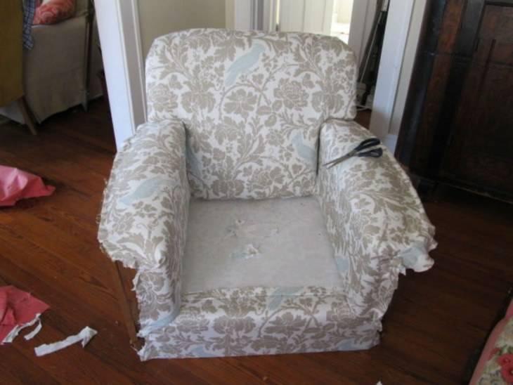 Перетяжка кресла своими руками: фото, видео перетяжка кресла своими руками: фото, видео