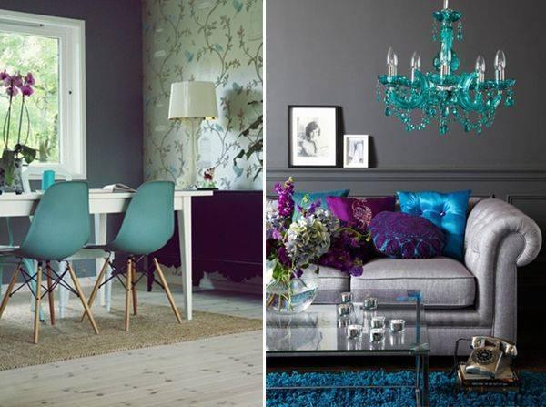 Стены бирюзового цвета: 130 фото лучших сочетаний и правила оформления стен