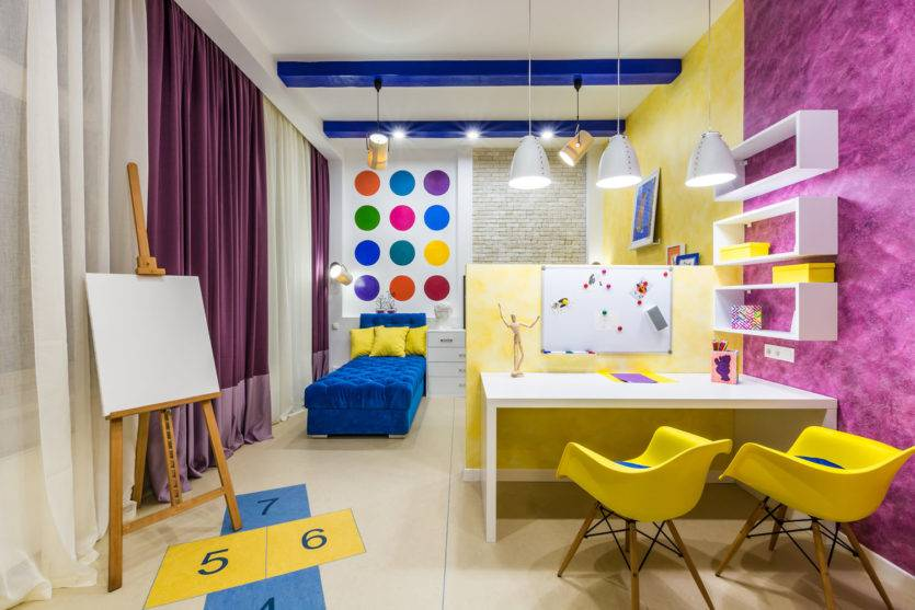 Детская 17 кв. м.: 115 фото реальных примеров оформления и расстановки предметов интерьера