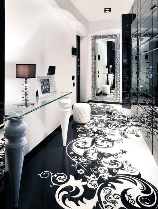Белая прихожая (68 фото): нестареющая классика и глянец светлых тонов, мебель в современном и классическом стиле в сочетании с черным