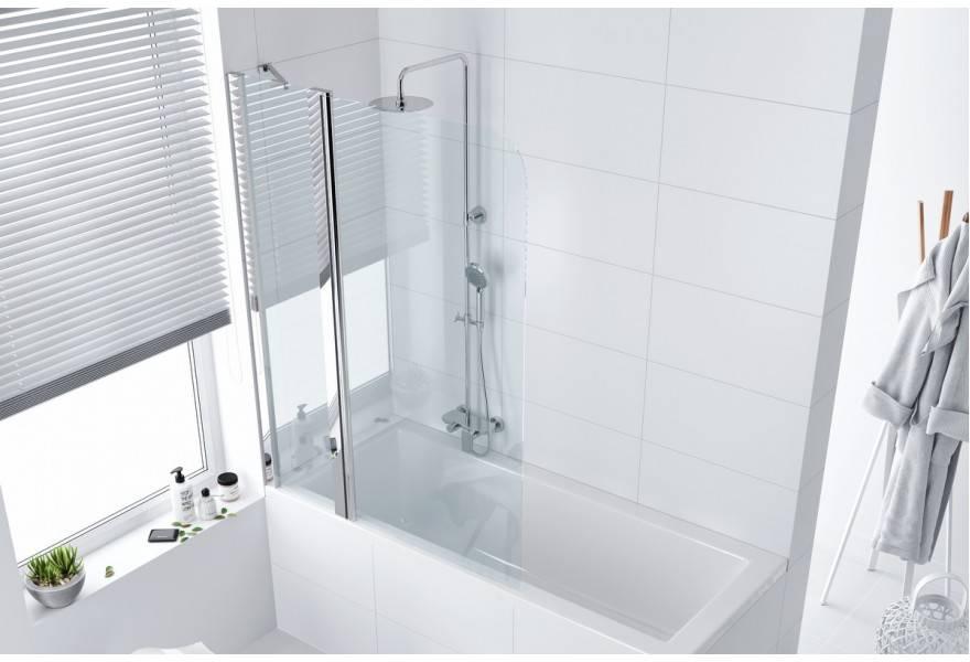 Стеклянная ширма для ванны