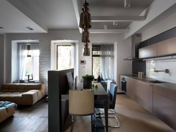 Дизайн квартиры 60 кв. м.