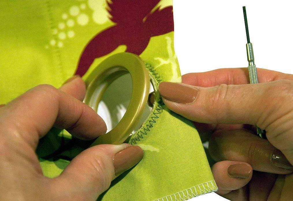 Как сшить шторы на люверсах своими руками: пошаговая инструкция