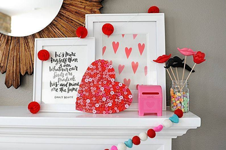Как украсить дом ко дню святого валентина — 50 супер-идей