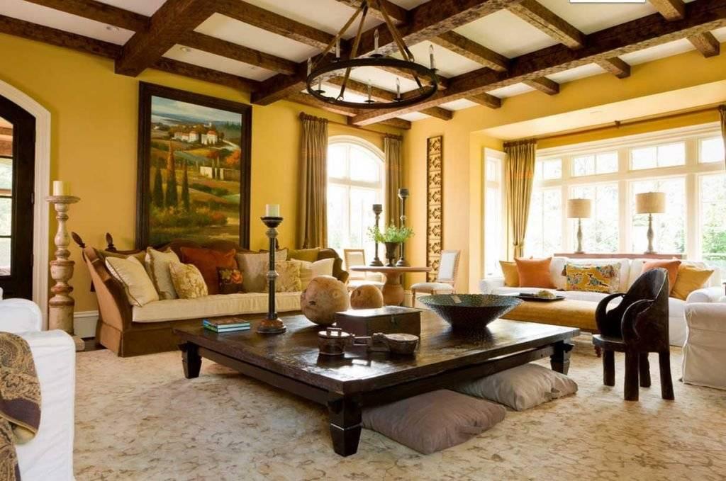 Итальянский стиль в интерьере: особенности, цвет, отделка, мебель (60 фото)