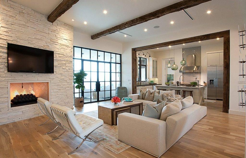 Дизайн гостиной вчастном доме: популярные идеи