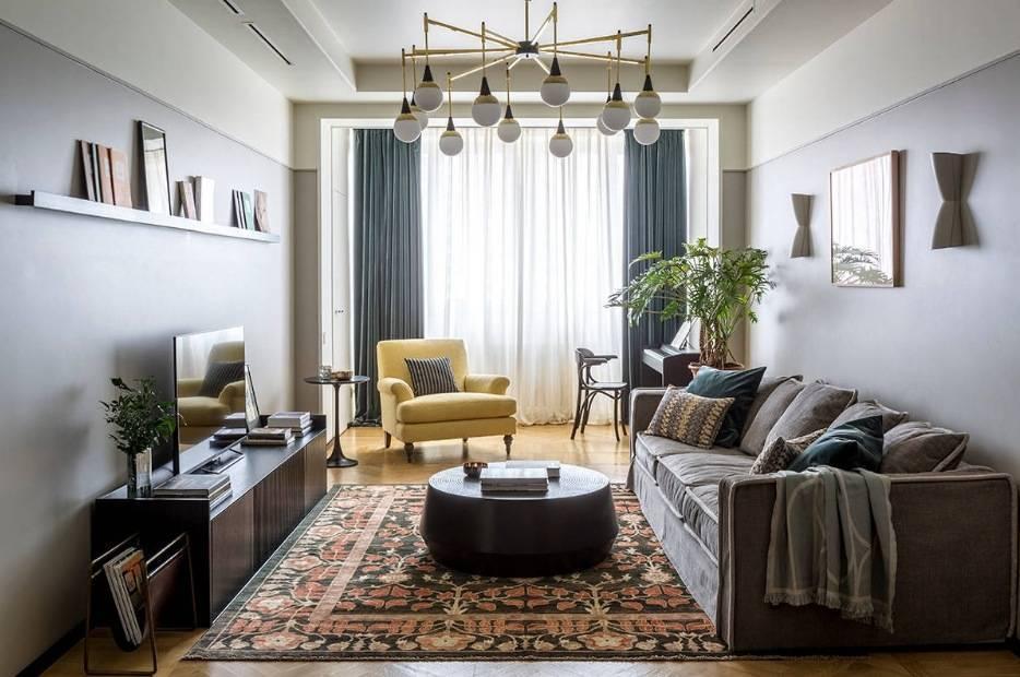 Портьеры в гостиную: как выбрать вариант для зала в классическом и других стилях, а также фото по теме