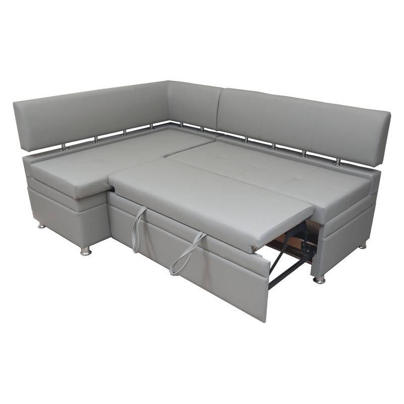 Угловой диван на кухню: виды, правила выбора, фото в интерьере