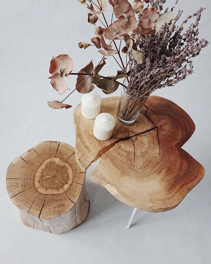 Какие поделки можно сделать из бревен?