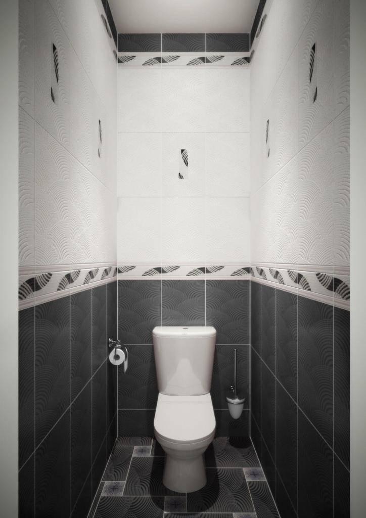Дизайн плитки втуалете— 45 фото скрасивым оформлением