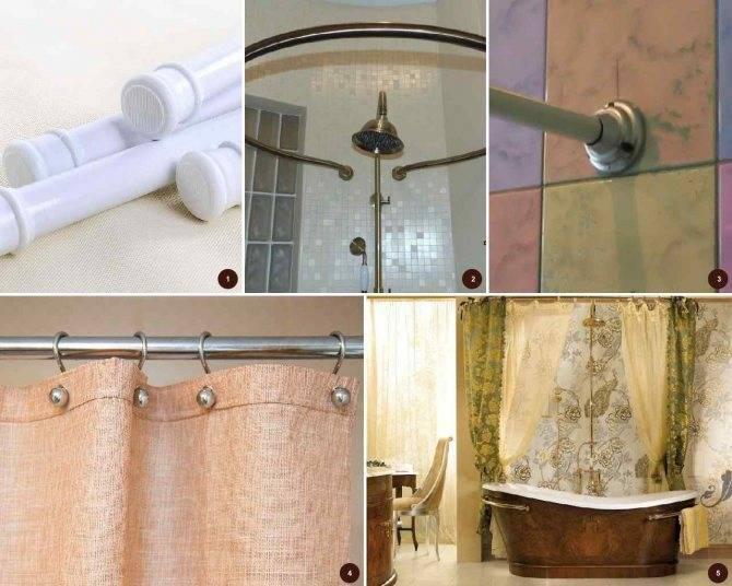 Карниз для ванной: 115 фото инструкции и порядок установки карниза