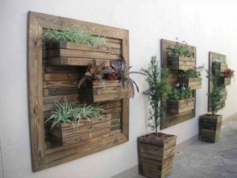 Деревянный ящик своими руками для цветов и рассады: различные варианты изготовления