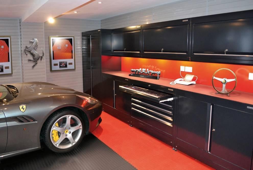 Идеи дизайна гаража +75 фото интерьера | правильный дизайн квартиры и дома