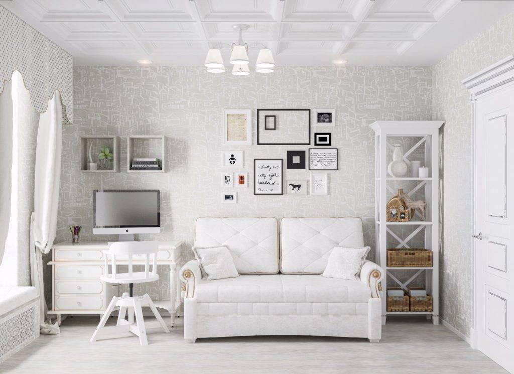 Белая детская комната: фото-обзор вариантов и идей детской белого цвета