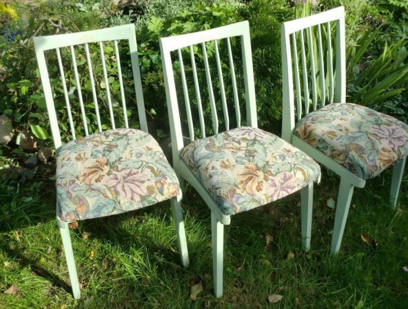 Декор стульев: 135 фото и видео мастер-класс обновления старой мебели своими руками