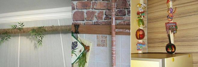 Газовая труба на кухне: как спрятать красиво и безопасно, практичные способы маскировки, гипсокартонный короб, окрашивание в тон и в контраст - 18 фото