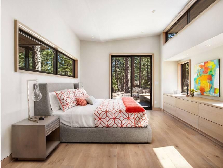 Дуб сонома – цвет мебели в интерьерах современных домов - 21 фото