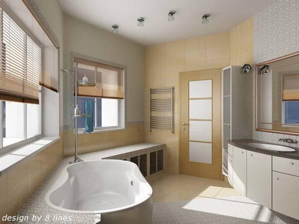 Дизайн совмещенной ванной: 130 фото грамотного зонирования и лучших идей интерьера