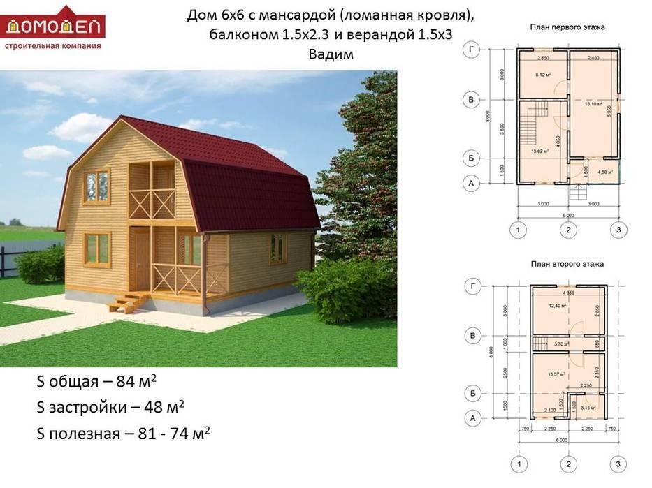 Планировка дома размера 8x10 м: примеры дизайна