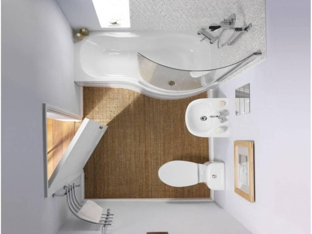Дизайн ванной 2 м2 в разных типах жилья