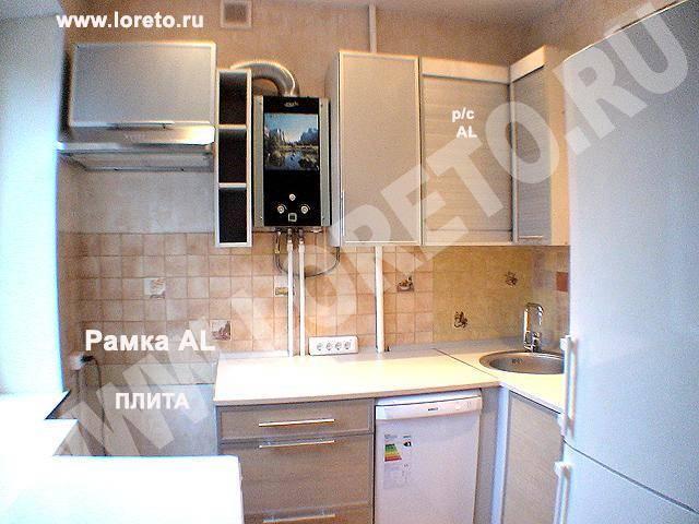Дизайн кухни 6 кв. м в хрущевке с холодильником, колонкой: фото и способы оптимизации пространства