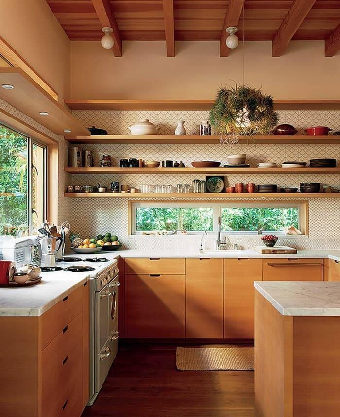 Уютная кухня: как сделать маленькую кухню красивой - 20 фото