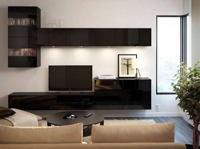 Шкаф в гостиную: виды, варианты наполнения, цвета, расположение, шкаф-купе в зале