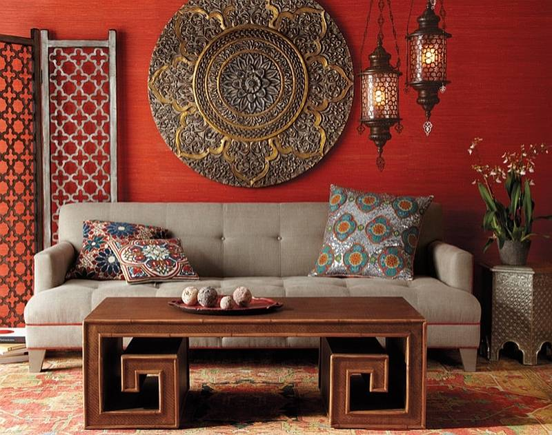 Интерьер в марокканском стиле   home-ideas.ru