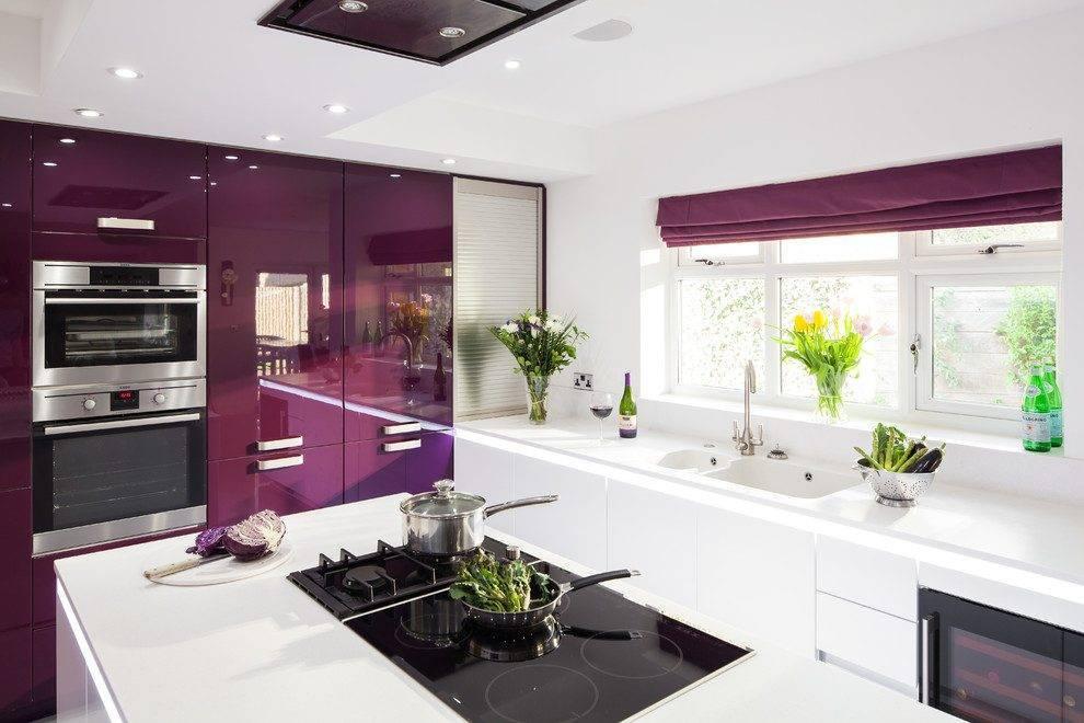 Яркая кухня (57 фото): особенности дизайна кухонного гарнитура с акцентами. примеры в интерьере