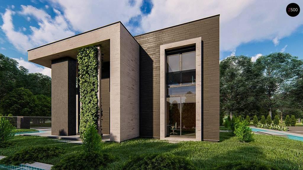 Проекты одноэтажных домов с плоской крышей (56 фото): современные дома из газобетона и кирпичные, с террасой и без, планировка монолитных домов