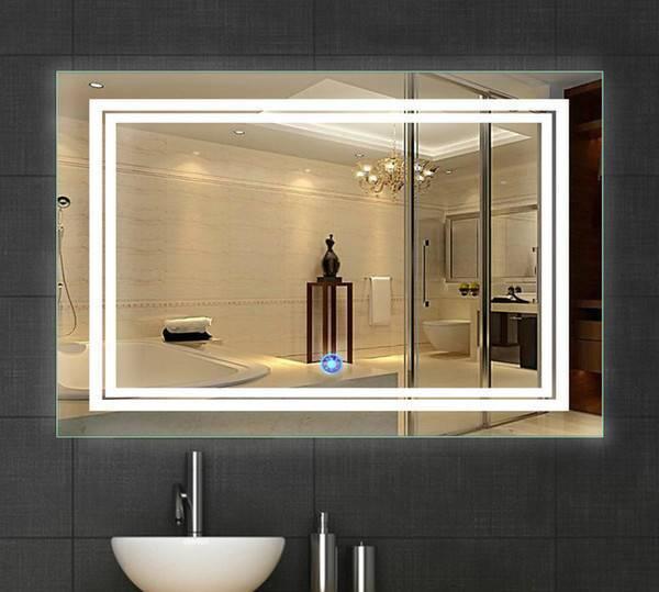 Зеркало с подогревом в ванную: как выбрать зеркало с подсветкой, часами и антизапотевателем в ванную комнату? особенности обогрева зеркала