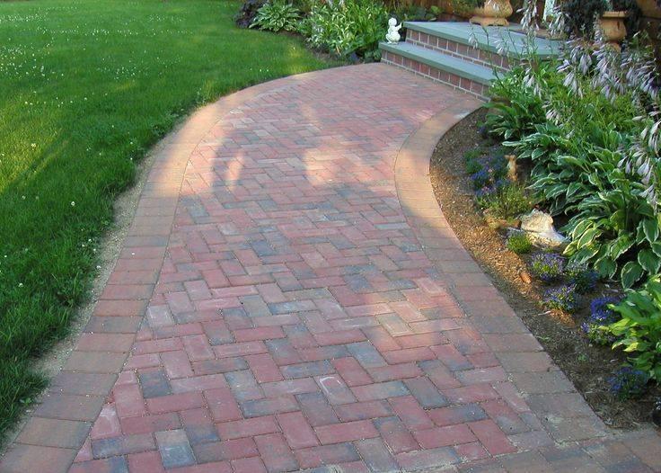 Как сделать садовую дорожку из тратуарной плитки: фото, видео