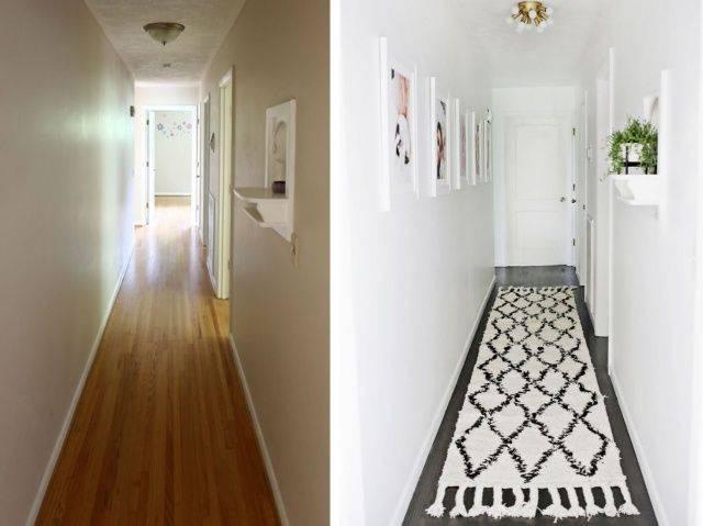Обои для коридора, визуально расширяющие пространство
