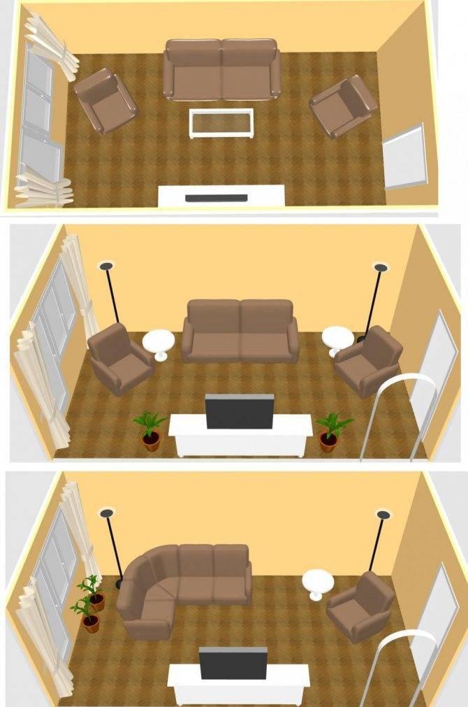 Как расставить мебель в комнате: зонирование и обустройство помещения