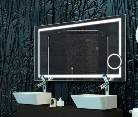 Как выбрать зеркало в ванную комнату: форма, размер, подсветка