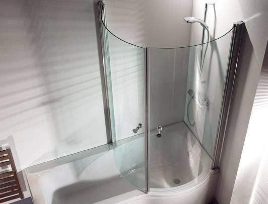 Ширмы для ванной: виды, размеры и советы по выбору