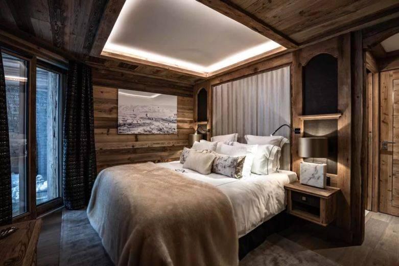 Интерьер в стиле шале: дизайн квартиры и особенности оформления + фото