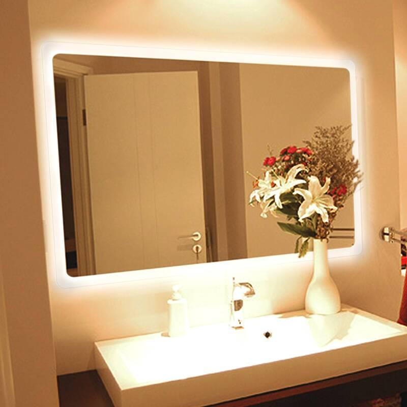 Смарт/умное зеркало в ванную, чёрное зеркало в умный дом: что это - сенсорное smart mirror