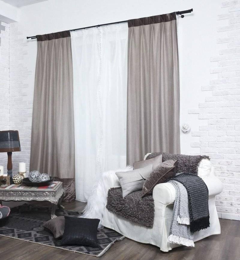 Шторы в гостиную: 100 фото идей, дизайн, стиль, виды, советы по выбору
