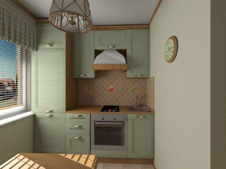 Маленькая кухня 6 кв м с холодильником (37 фото): как спланировать гарнитур и мебель