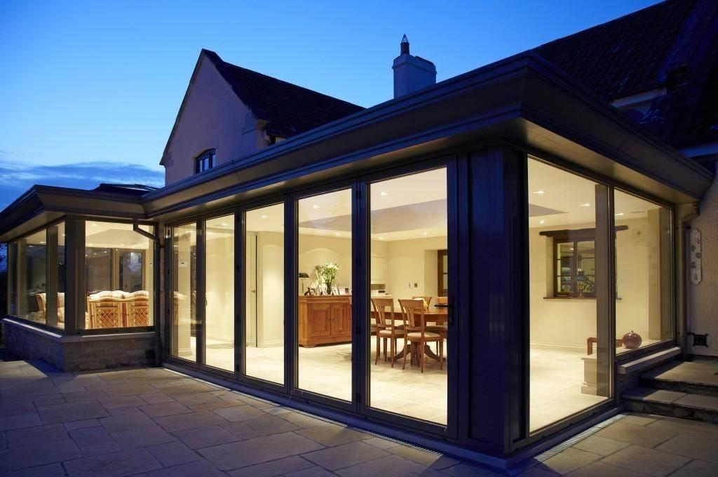 50 фото кухонь с выходом на террасу в частном доме - лучшая подборка