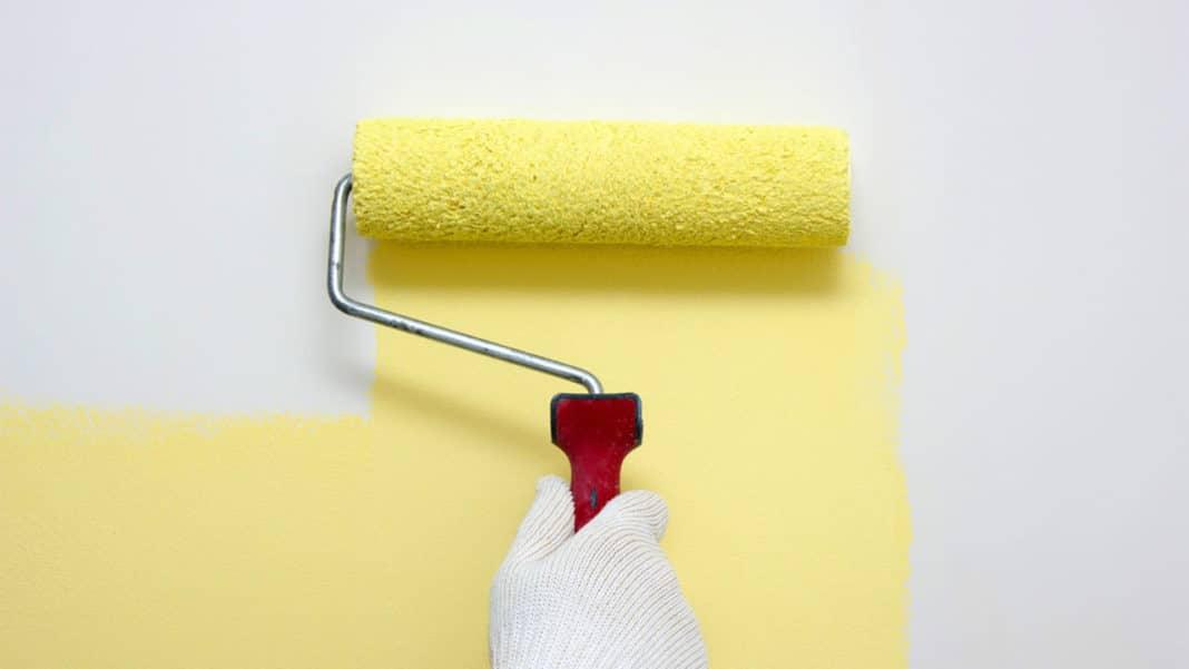 Покраска стен: как качественно окрасить своими руками. подбор краски и инструментов (75 фото)