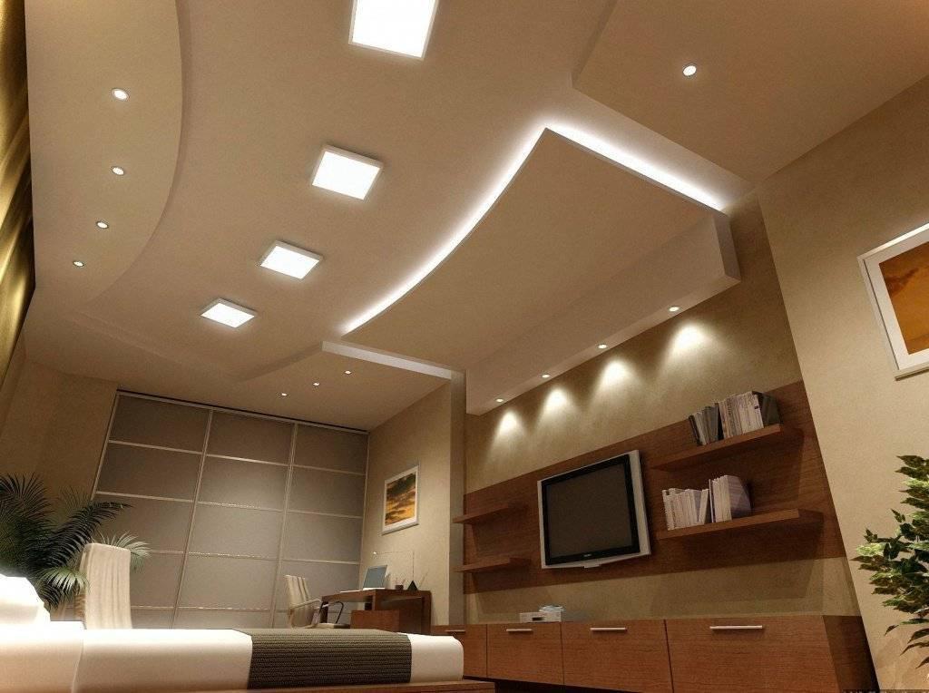 Потолок на кухне из гипсокартона 50 фото популярных вариантов дизайна, советы для монтажа